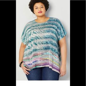 Women's new poncho sweater top